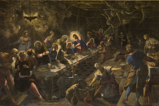 ultima cena-Jacopo tintoretto