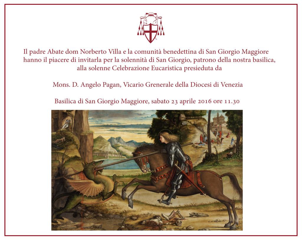 invito solennità san giorgio 2016